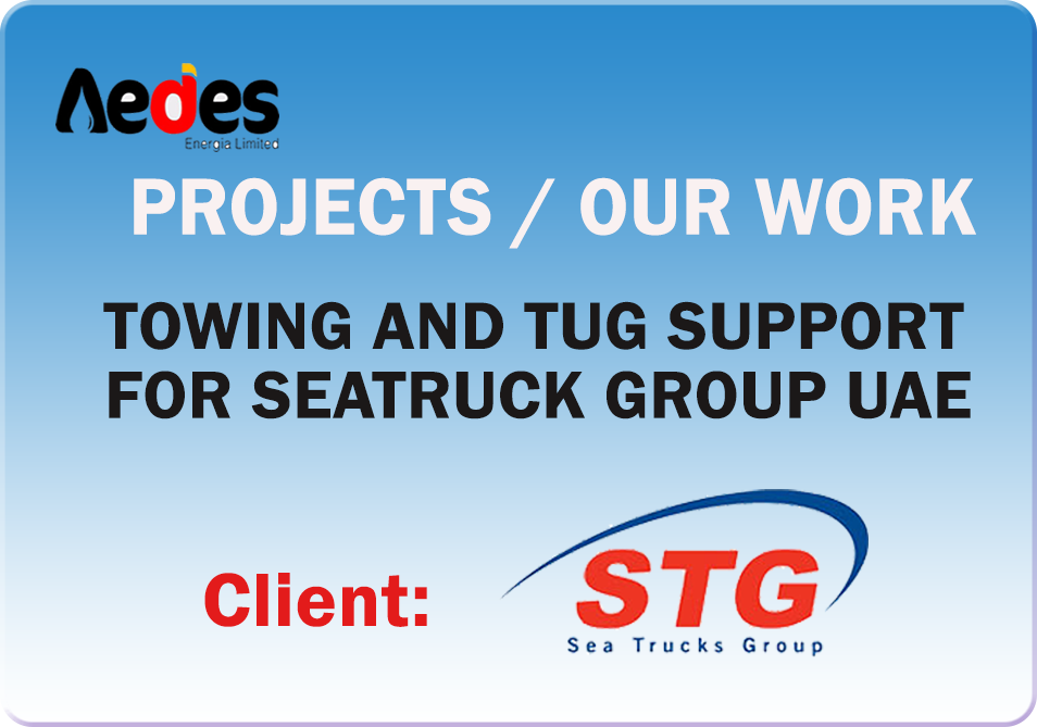 Towing and Tug Support for Seatruck Group UAE